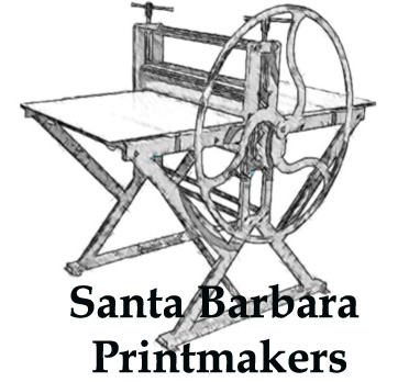 Santa Barbara Printmaker Association Logo