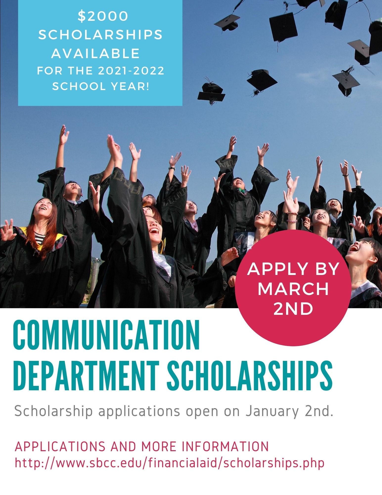 Communication Department Scholarships