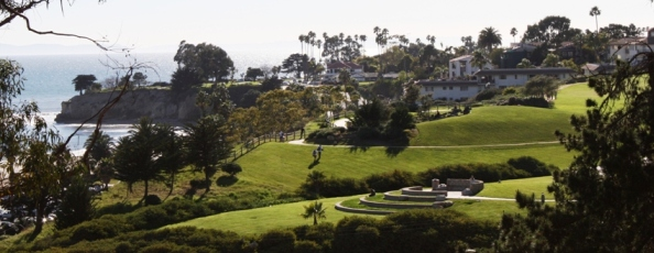 Panoramic view of West Campus from East Campus