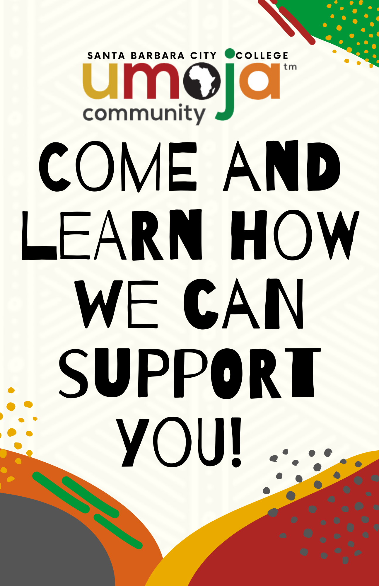 Umoja Come and Learn How We Can Support You
