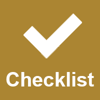 end of term checklist