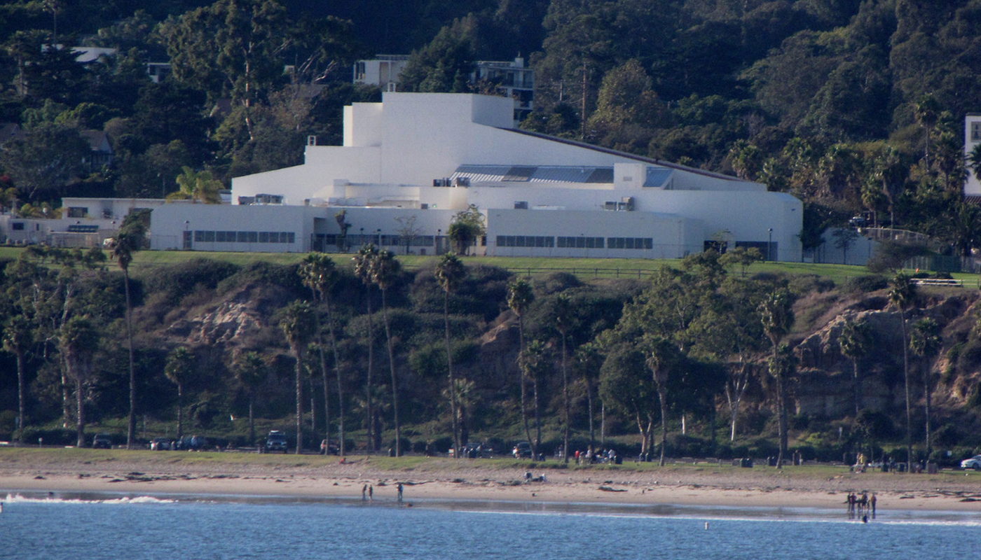 Theatre Complex from the Beach